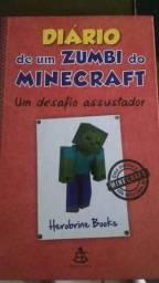 """Diario de um Zumbi do Minecraft 1 """"Um desafio assustador"""""""