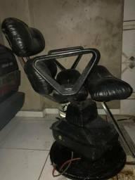 Cadeira de cabelereiro automatica