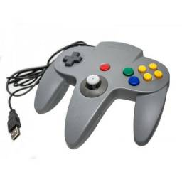 Controles Joystick Nintendo 64 Usb Pc Mac Raspberry Linux