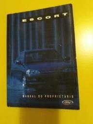 Manual do ford escort europeu