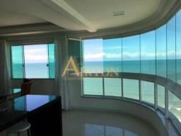 L3025 Apto, 03 suítes climatizadas, com a melhor vista do mar no centro de meia praia sc