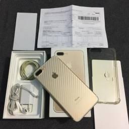 IPHONE 7 PLUS 32GB com NOTA FISCAL ac/ cartão