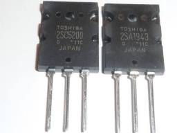 2SC5200 e 2SA1943 Toshiba Original Vendemos o Par