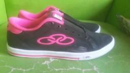 Vendo tênis Olympikus original preto com rosa