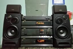 Amplificador+Tuner+Toca Dico+Cd Sansui