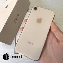 IPhone 8 GOLD 256GB / Seminovo / Impecável e completo!!