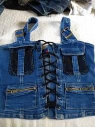 Blusas jeans