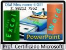 Aula Particular Excel | Word | PowerPoint | Informática | Presencial | ZonaSul | Sua Idade