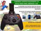 Controle Bluetooth Exbom CTR-G20SF p/ Celular Android e Iphone