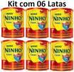 Kit 6 latas Ninho +1 800gr