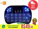Mini Teclado Bluetooth Luminoso c/ bateria Celular