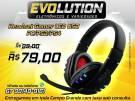 Fone De Ouvido Gaming Led Usb Stereo PS3 PS4 e PC