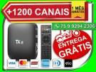 Super TV box OTT Tx2 16gb Memoria android - entrega gratis