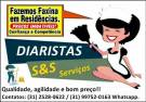 Faxina - Diaristas