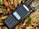 Kit 1 Rádio Ht Dual Band Baofeng 8w Uv-82 + 1 Antena 771