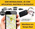 Gps Rastreador Bloqueador Veicular Carro Caminhão Moto Sem Mensalidade - Entrega gratis
