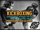 Aulas de kickboxing é na Team Silva