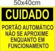 Placas Sinalização Condominios 50x40