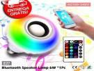 Lâmpada Led Music Bluetooth Rgb 7w Caixa De Som e Controle Remoto - Novo - Entrega Grátis