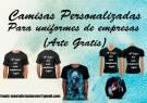 Camisas personalizadas - estampa total