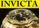 Relógio Invicta 22767 Lançamento, banhado ouro 18K 100% Original c/garantia em 12X