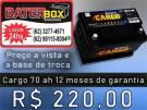 Bateria 70ah Selada Promoção 98115-8004 (24hrs)