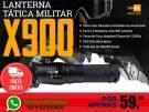 Lanterna Tática X900 - Entrega Grátis