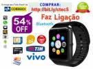Relógio Smart Watch, Chip-operadora, Android, iPhone